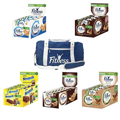 Offerta 5 Confezioni di Barrette Fitness assortite con borsone in Omaggio