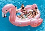 Intex Flamingo Party Island, Inflatable Island, 166in X 147in x 73in