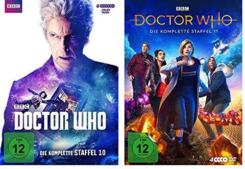 Doctor Who - Die komplette Staffel 10 + 11 im Set - Deutsche Originalware [10 DVDs]