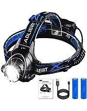 AUKELLY LED ヘッドライト IP65防水仕様 点灯3モード JPL1