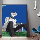 wojinbao Senza Cornice Poster Modern Canvas Wall Art Home Decor Stampa 1 pz Anime Dargon Ball Picture Camera da Letto Sfondo Quadro 40x60cm
