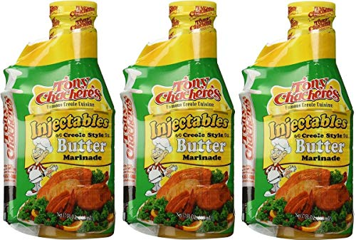 Tony Chachere's Butter with Injector, Pack of 3