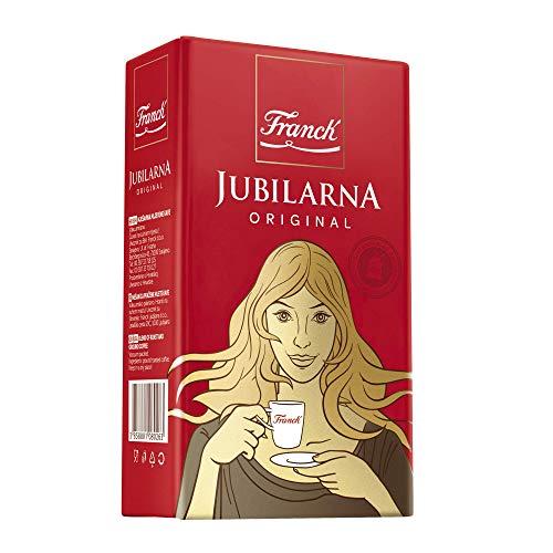 FRANCK Jubilarna Originalmischung aus Geröstetem und Fein Gemahlenem Kaffee Vakuumversiegelt 250g