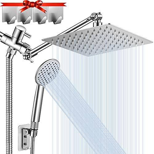 Shower Head, NERDON High Pressure Rainfall Shower Head