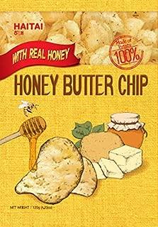 Haitai HONEY BUTTER CHIP 120gram, 4.23 Ounce (Pack of 10)
