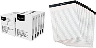 $38 » Amazon Basics Multipurpose Copy Printer Paper - White, 8.5 x 11 Inches, 5 Ream Case (2,500 Sheets) & Legal/Wide Ruled 8-1/...