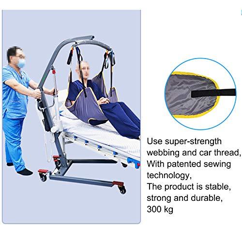 51l2Nds+apL - WLKQ Cinturón de Transferencia médica de elevación - Grúa de Paciente - Paciente Cinturón De Transferencia para Bariátrico, Enfermería,Anciano, Discapacitado, Cuerpo Completo Y Postrado En Cama