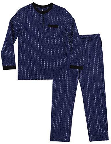 Irevial Pijama niña Invierno, Pijama de 100% Algodon para 12 años,Cálido Manga Larga Camiseta y...