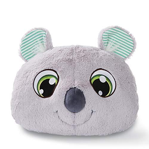 NICI Schlafmützen Koala Kappy, Kuscheltier Jungen, Mädchen & Babys, Flauschiges Kuschelkissen für Kinder ab 12 Monaten, Weiches Stofftier-Kissen I 45821, 30 x 25 cm