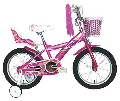 Umit J1651 Bicicleta Infantil, Niñas, Rosa, 16'