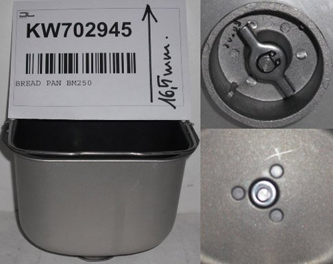 CAREservice Kenwood BM250 CESTELLO Pane Tipo Pre-Twist&Lock