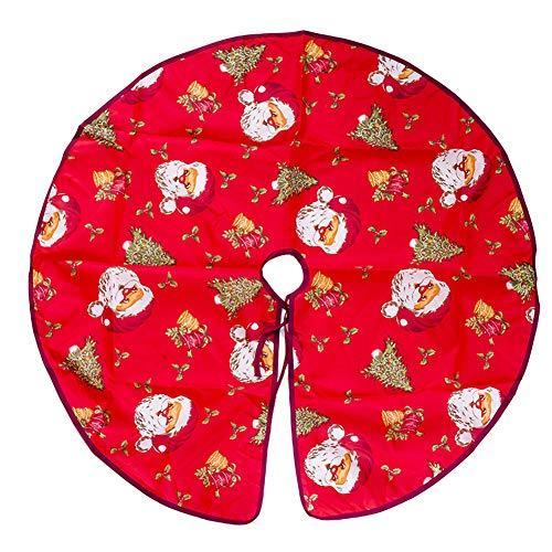 Cosanter La Jupe Arbre de Noël Imprimee Pere Noël Est Specialement Conçue pour Noël avec Un Diametre de 90 cm