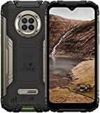 """Smartphone Robusto DOOGEE S96 Pro 8GB + 128GB Teléfonos Desbloqueados con Cámara Infrarroja de Visión Nocturna, Helio G90, 6350mAh 4G Dual SIM IP68 a Prueba de Agua, 6.22""""Android 10 GPS/NFC-Verde"""