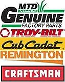 MTD Genuine Part 731-07487 Nozzle-Deck WASH OEM Part for Troy-Bilt Cub-Cadet Craftsman Bolens Remington Ryobi Yardman Yard-Machine White Huskee Lawn-