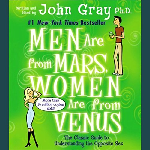 Men Are from Mars, Women Are from Venus audiobook cover art