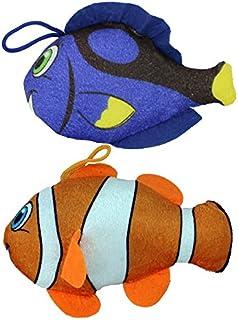 P & R 2er Set Korallenfische: Clownfisch + Doktorfis