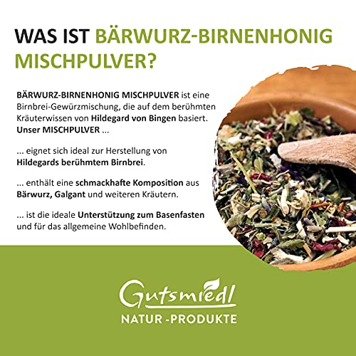 Bärwurz-Birnenhonig-Mischpulver - 2