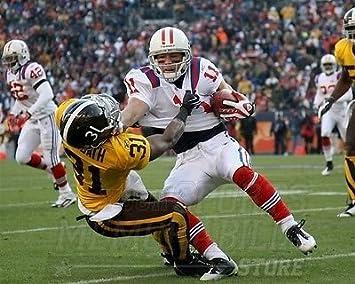 Amazon.com: Julian Edelman New England Patriots Throwback Jersey ...