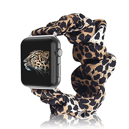 Compatibile con Apple Watch 38mm 40mm 42mm 44mm,Cinturino Elastico per Orologio con Cinturino...