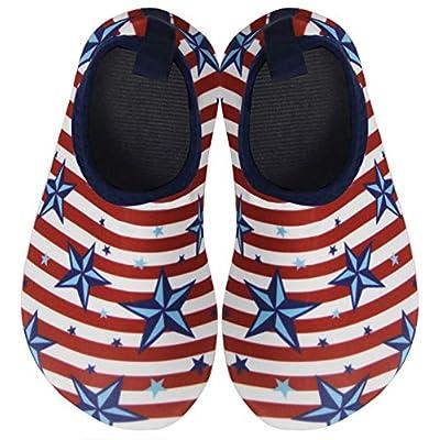 BomKinta Kids Water Shoes Boys Girls Barefoot Q...