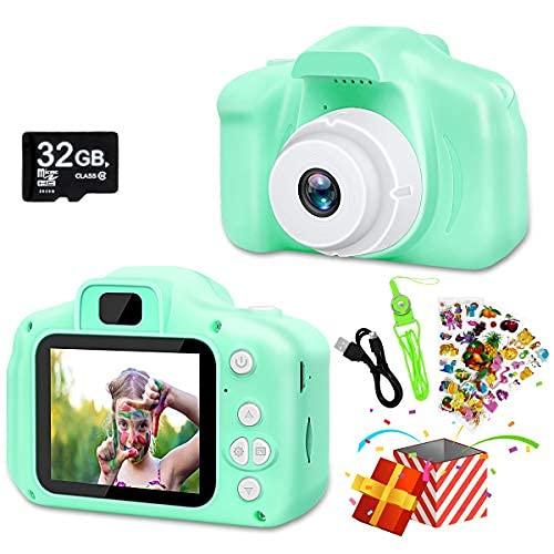 2021 más nueva cámara Selfie de los niños, 20MP 1080p cámaras digitales regalos de cumpleaños de Navidad para niñas niños niños edad 3..