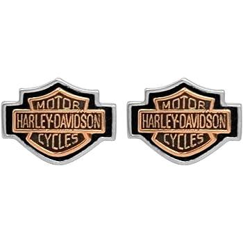 Harley-Davidson Ohrstecker Woven Circle