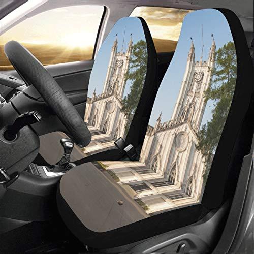 Romantik Gothic Architektur Kirche Benutzerdefinierte Neue Universal Fit Auto Drive Autositzbezüge...