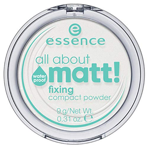 essence – all-about mat! Fixing compact poeder, waterdicht.