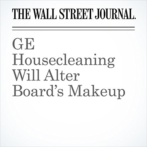 GE Housecleaning Will Alter Board's Makeup audiobook cover art