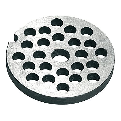Westmark Lochscheibe für Westmark Fleischwolf 97522260/Gr. 8, ø 6 mm, Ersatzteil, Stahl, Silber, 14802250