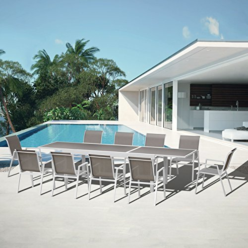 Salon de jardin aluminium Ibiza