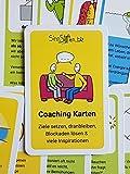 Coaching Karten Set - Ziele setzen, dranbleiben, Blockaden lösen & viele Inspirationen