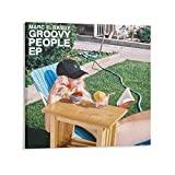 XUTING G-Eazy Groovy People Cover Rapper Sänger Druck Foto