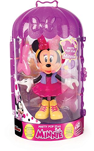 Minnie Mouse- Fashion Dolls 2: Pop Star, Multicolor (IMC Toys 182912) 5