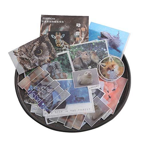 PMSMT 40 unids/Pack Serie de Viajes Pegatinas de Fotos Paquete publicado Kawaii planificador Scrapbooking Pegatinas papelería Escolar útiles Escolares