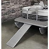 Extreme Max 3005.3849 Heavy-Duty Aluminum Pontoon Boat Ramp - 70' x 21', 600 lbs. Capacity