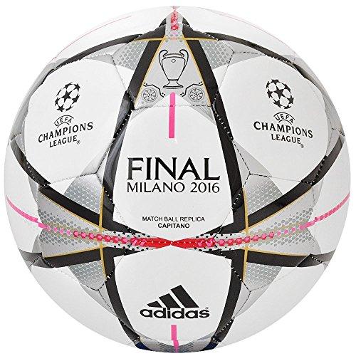 adidas Finmilano cap, Pallone da Calcio Uomo, Bianco, 5