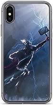 iPhone 7 Plus/8 Plus Anti-Scratch Shockproof Clear Case Thor Vs Kratos Avengerss Comic Superhero