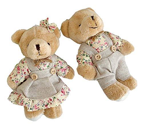 Lovely Cute Bears Dolls Petite Maison de Jeu Jouets pour Enfants Poupées pour Enfants