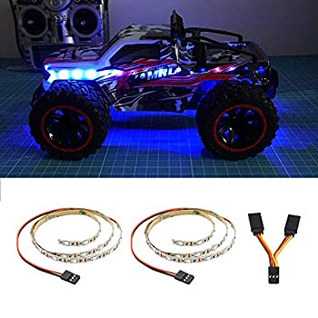 LED Light Strip for RC Fixed Wing Airplane Flying Wing Plane AR Wing Drone Model Car Truck  Blue