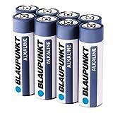 High Performance Alkaline Qualitätsbatterien Typ AA / LR6: für längere Lebensdauer und mehr Freude an Ihren Geräten Die Blaupunkt High Performance Batterien liefern immer die höchste Energieleistung bei gleichzeitig lang anhaltender Power Haltbar bis...
