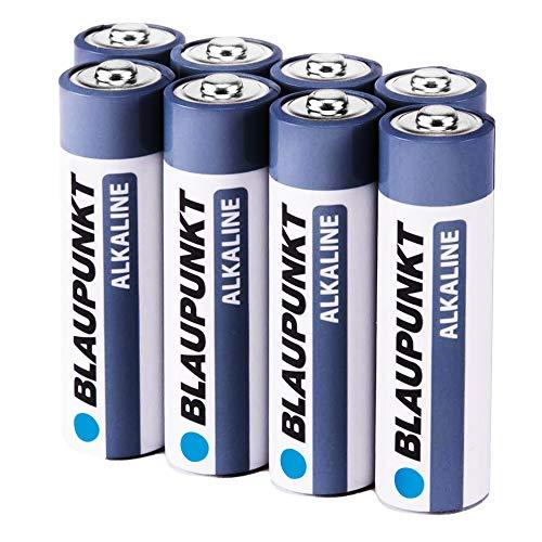 BLAUPUNKT Mignon Alkaline Batterien AA / LR6 1,5V High Performance - Hochleistungs- Batterien für maximale Leistung - 8er Pack