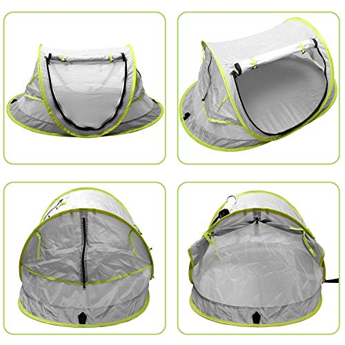 StillCool Baby Reisebett Portable Pop Up Sommer Strand Moskitonetz & Sun Shelter mit 2 Pegs Falten Infant Krippe Moskitonetz - 4
