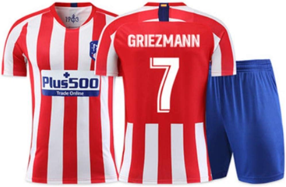 JYF Camiseta Futbol Antoine Griezmann Fútbol De Manga Corta ...