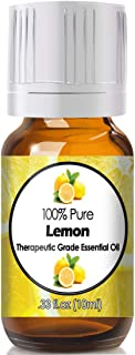 Lemon Essential Oil for Diffuser & Reed Diffusers (100% Pure Essential Oil) 10ml