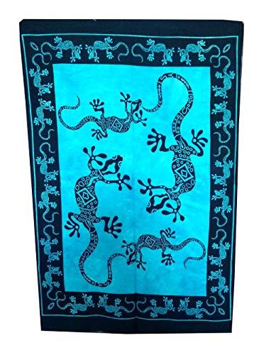 Marusthali Poster da Parete con Mandala, con Scritta in Lingua Tedesca