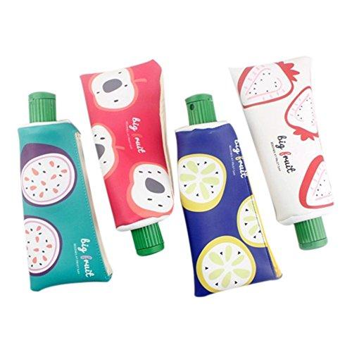 drawihi Box Bleistift-Zahnpasta Obst-Cartoon vier Farben mit Ihrer Wahl