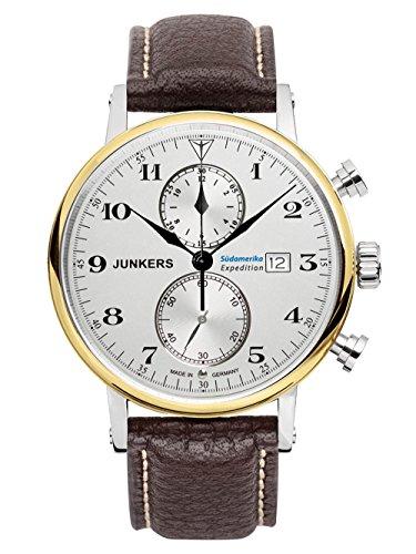 Junkers Orologio da uomo serie Sud America Expedition Chrono 6586-5