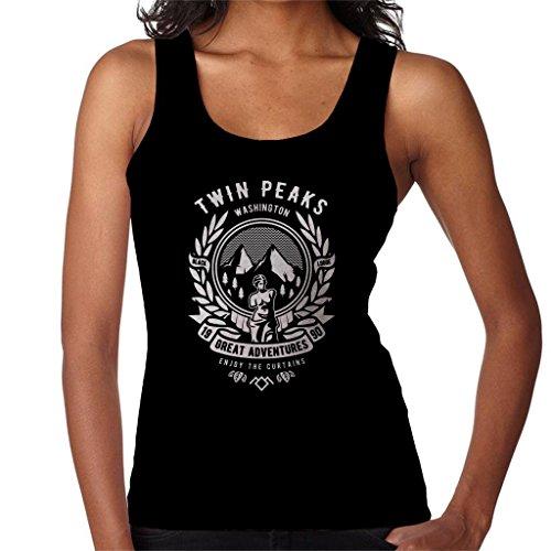 Cloud City 7 Twin Peaks genieten van de gordijnen vrouwen Vest