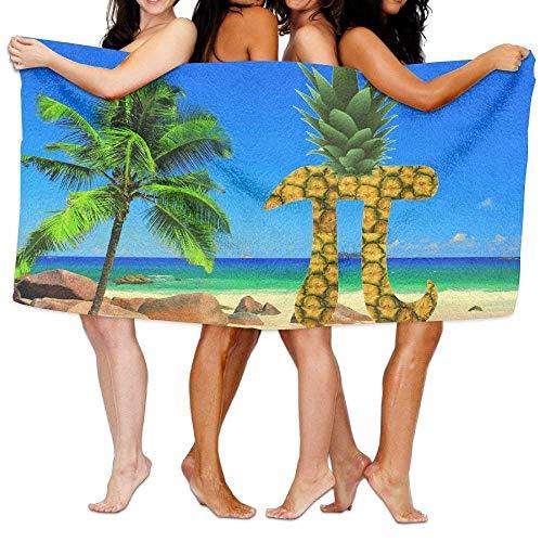 Gebrb Duschtücher/Badetücher,Strandtücher, Pi-neapple Pineapple Pi Day Custom Spa Towel Shower Towel Wrap Beach Towels 31x51 Inches